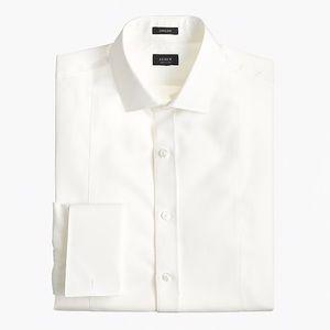 Ludlow Slim-fit Piqué Bib Tuxedo Shirt